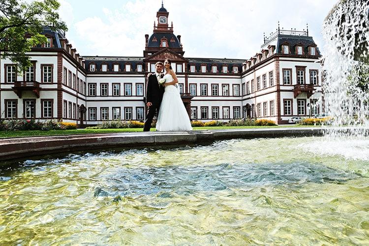 das hochzeits foto schloss philippsruhe 03 - Schloss Philippsruhe, Hanau